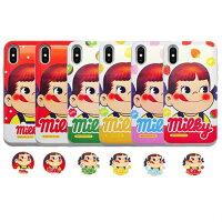 ペコちゃん不二家スマホケースiPhoneXiPhone8/iPhone7iPhone8plus/iPhone7plusiPhone6/6siPhone6plusスライドカード収納Beelze00083