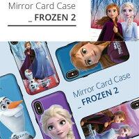 アナと雪の女王2iPhoneケースiPnone11proiPhone11iPhoneXRiPhoneX/XSケースiphone7/iphone8カード収納鏡ミラー付ケースグッズ220