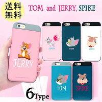 トムとジェリーカードiphone7iphone6sバンパーケースiphone7plusGalaxys7edgeキャラクターアイフォン7