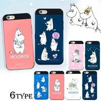 ムーミンiPhone7ケースiPhone6ケースiPhone6sキャラクターグッズカード収納