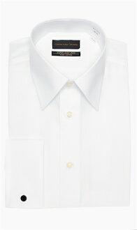 For all-season white series regular collar dress shirt CHRISTIAN ORANI Aoyama