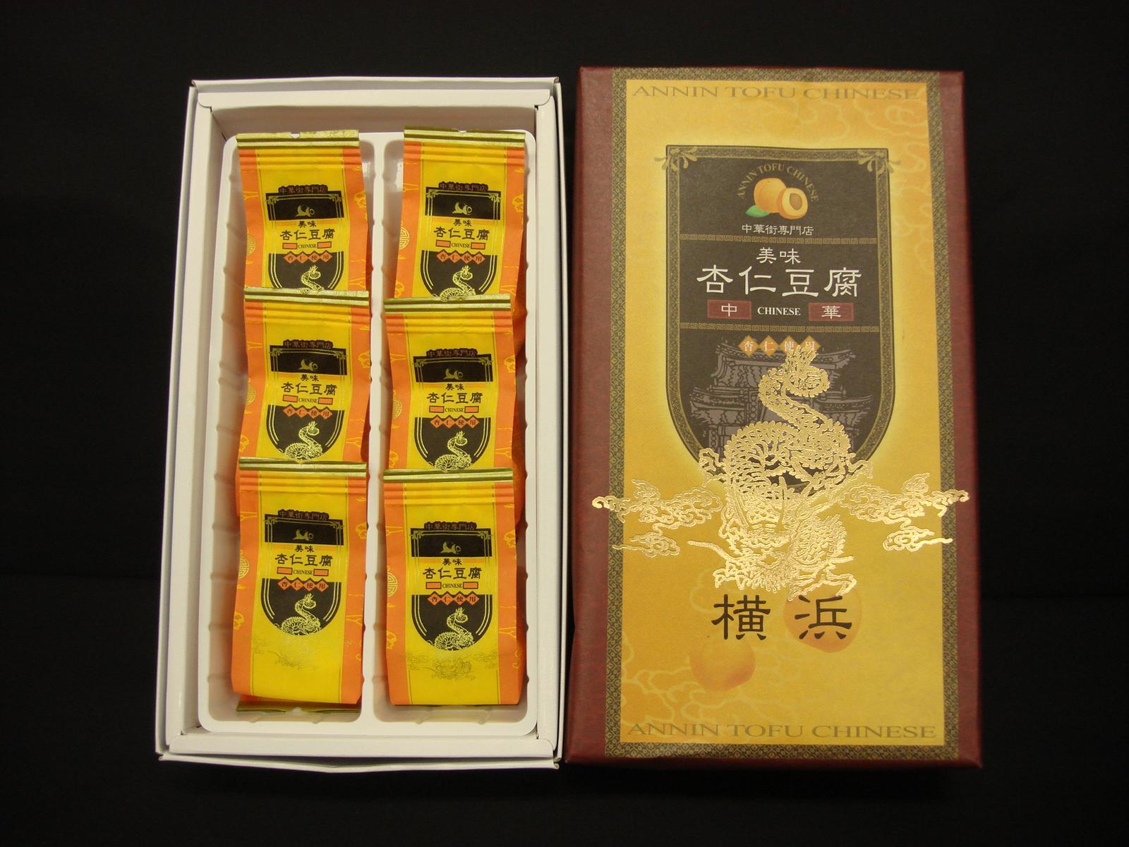 横浜中華街専門店の杏仁豆腐トロ〜ッと、とろける杏仁豆腐の中にフルーツも入ったとても上品なデザートリピーターの非常に多い商品です。オススメ!【RCP】【お土産】05P03Sep16