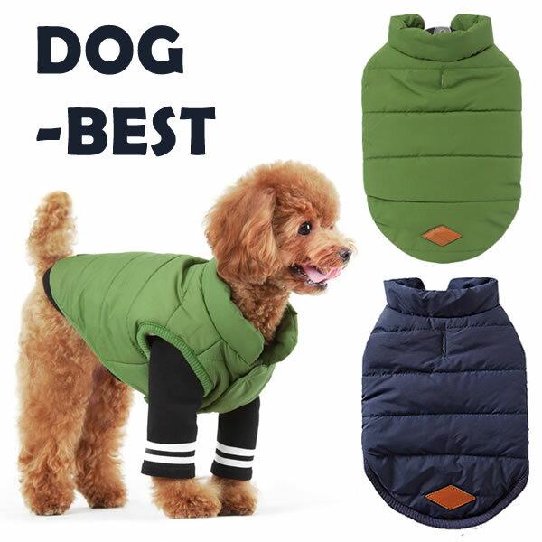 犬 服 犬服 小型犬 ベスト コート ドッグウエア S SM M L XL グリーン/ネイビー