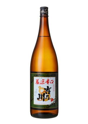 新潟の銘酒/吉乃川(よしのがわ)/ありがとう発売30周年/普通酒【厳選辛口吉乃川】1800ml