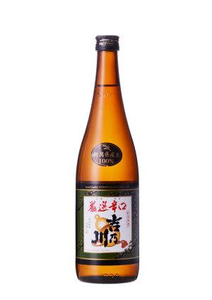 新潟の地酒/吉乃川(よしのがわ)/ありがとう発売30周年/普通酒【厳選辛口】720ml