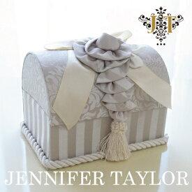 [P5倍] ジェニファーテイラー トランク型ボックス Haruno-Gray Jennifer Taylor