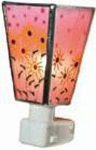 水吉郁子作:フットランプ ルドベキア(ピンク) 照明 ランプ.廊下 足元 フット ランプ 間接照明