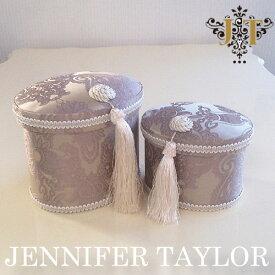 ジェニファーテイラー オーバルBOX2P Hermosa-labender Jennifer Taylor