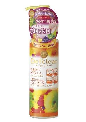 明色デット DETクリア ブライト&ピール ピーリングジェリー ミックスフルーツの香り 180mL