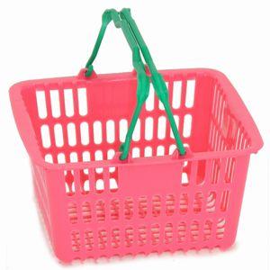 【注目!】【ほんわかTVに登場】YAMATOSTYLEBASKETお子様用買い物カゴSL-1(6リッター)【10個セット】ピンク/ブルーミニサイズでお買い物練習用に!●●●