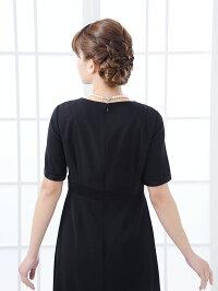 女性礼服K004ワンピース背面