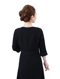 女性礼服K006ワンピース背面