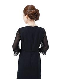 女性礼服K009ワンピース背面