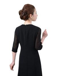 女性礼服K010ワンピース背面