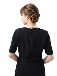 女性礼服K014ワンピース背面