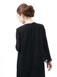 女性礼服K023上半身後ろ