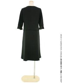 夏の女性礼服420後ろ全身