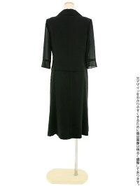夏の女性礼服422後ろ全身