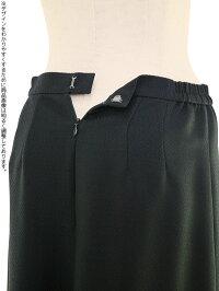 女性ブラックフォーマル008スカート後ろ