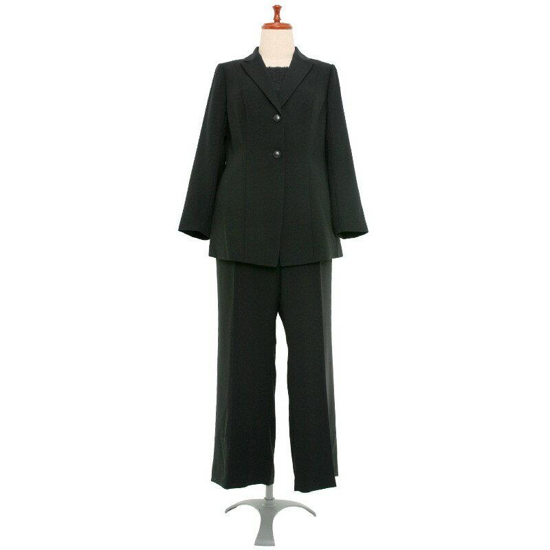 【レンタル】大きいパンツスーツ 316 25号 [選べる股下(60cm〜75cm) ] fy16REN07 [ls]