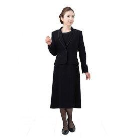 【レンタル】[623] 着丈90cmのショート丈授乳対応ワンピースとジャケットのアンサンブル喪服・礼服(ヘチマカラー){9号}{2}{3}{4}{5}{6}5分袖/礼服レンタル/喪服レンタル/レディース/お通夜/法事