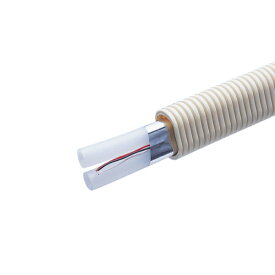 前澤給装工業 架橋ポリエチレンパイプ(ペアチューブ/だ円CD管・信号線付) 50M DBPT10-DCDE-50IQ