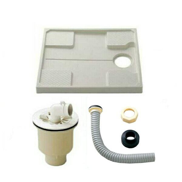 TOTO 洗濯機パン(縦引トラップ付き) PWP740N2W(PWP740W後継品)+PJ2009NW