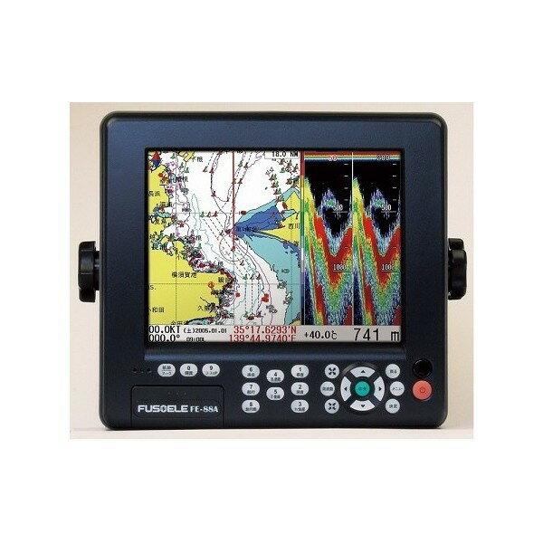 FUSO 8型 GPS魚探 FE-88A 600W 2周波 GPSプロッタ魚探 fe88a