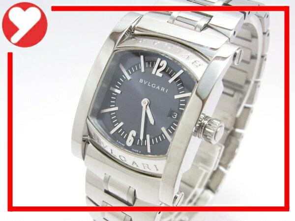 【中古】【程度A-】【外装仕上げ済み】ブルガリ アショーマ レディース AA39S クオーツ SS ボーイズ 腕時計