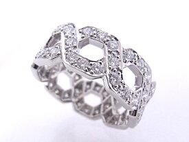 ティファニー TIFFANY&Co Pt950 プラチナ ダイヤモンド 指輪 リング【中古】【程度A+】【極上美品】