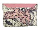 【中古品】【国内百貨店購入品】【程度A】プラダ PRADA カードケース 1MC208OPALINE うさぎモチーフGLACE'RABBIT LI 名刺入れ牛皮…