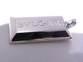 ブルガリ BVLGARI インゴットペンダント750WG ホワイトゴールド ペンダントトップ【中古】【程度A】【良品】