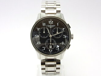 Longines heritage chronograph mens L2.649.4 Black Edition
