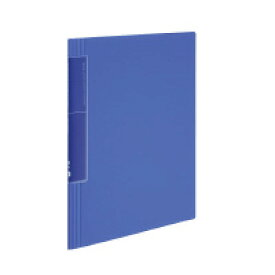 コクヨ クリヤーブック<ノビータ>ウェーブカット A4縦 固定式20枚ポケット 青 ラ-TN560B(60080165)