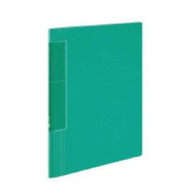 コクヨ クリヤーブック<ノビータ>ウェーブカット A4縦 固定式40枚ポケット 緑 ラ-TN570G(60080264)