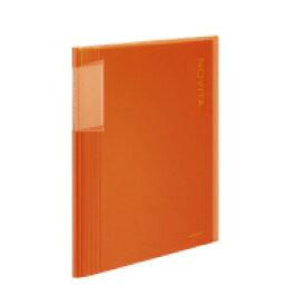 コクヨ クリヤーブック<ノビータ> A4縦 固定式40枚ポケット オレンジ ラ-N40YR(60080462)