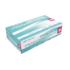 共和 ミリオン プラスチック手袋 粉無No.2500 M (LH-2500-M)