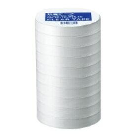 NB PP粘着テープ(10巻) 大巻 15mm幅×35m (CビTP-TP-P15-10)