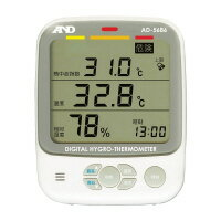 エー・アンド・デイ 環境温湿度計 表示:熱中症指数、乾燥指数、湿度、温度(AD-5686)