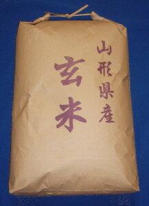 【送料無料】1年産山形県産コシヒカリ玄米10kg【沖縄島別途1000円加算】