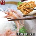 地元駿河湾産 高級 生桜えび(さくらえび) 350g【ギフト】