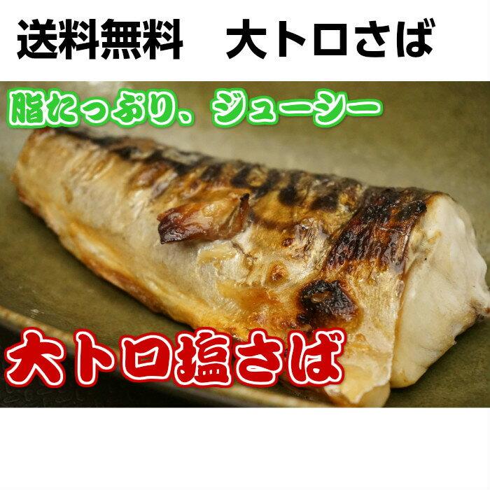 【送料無料】【酒の肴】美味しい鯖 ふっくらジューシー 大トロ 塩さばフィーレ みんな大好き
