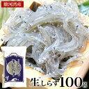 駿河湾産 生しらす 100g 天然無添加 鮮度抜群 美味しい生シラス おつまみ 生しらす丼 酒のさかな