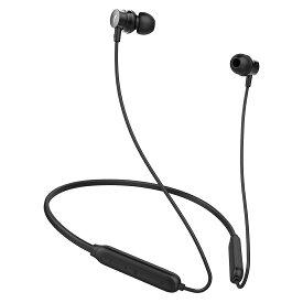 【当店5%クーポン発行中】【Bluetooth5.0 &デュアルドライバー】 Bluetooth イヤホン 高音質 ブルートゥース イヤホン 12時間連続再生 マグネット搭載 マイク付き ハンズフリー通話 ステレオ ワイヤレスイヤホン [1年保証] iPhone &Android 対応