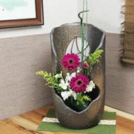 信楽焼 枝付き花器 癒しを感じさせる土味の壷 つぼ 花瓶 花器 陶器 花入れ 一輪挿し しがらき 陶器 インテリア やきもの 焼き物 ha-0165