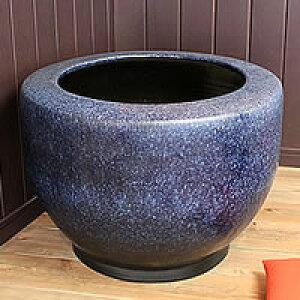 【 38時間限定!ポイント20倍 】信楽焼 20号特大なまこ火鉢 和風を演出する陶器火鉢です。 陶器ひばち 手焙 手あぶり 信楽焼ひばち hi-0018