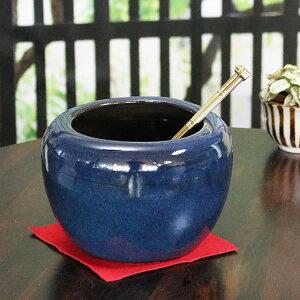 火鉢 ミニひばち 陶器 手あぶり 灰皿 信楽焼 陶器 プランター 鉢 やきもの hi-0032