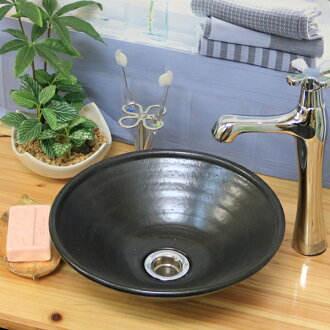 Mattone 黑色 Shin 樂鍋! 坐便器不會累的! 時尚虛榮儀器 / 手洗盆作 / 虛榮球 / 虛榮洗滌槽裡 / 陶器 / 虛榮單位 / 洗碗 / 盆碗和盆陶器 / 陶器 / 日本