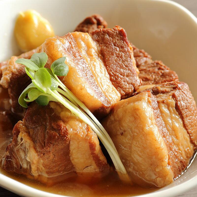 【簡易包装】俺の国産豚角煮 2パック 松阪牛やまと勝光治のおすすめ