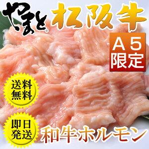 お中元 ギフト 肉 ホルモン焼き に最高のシマチョウ(大腸)です。 松阪牛やまとの ホルモンシリーズ 和牛ホルモン(500g) 焼肉用 取り寄せ